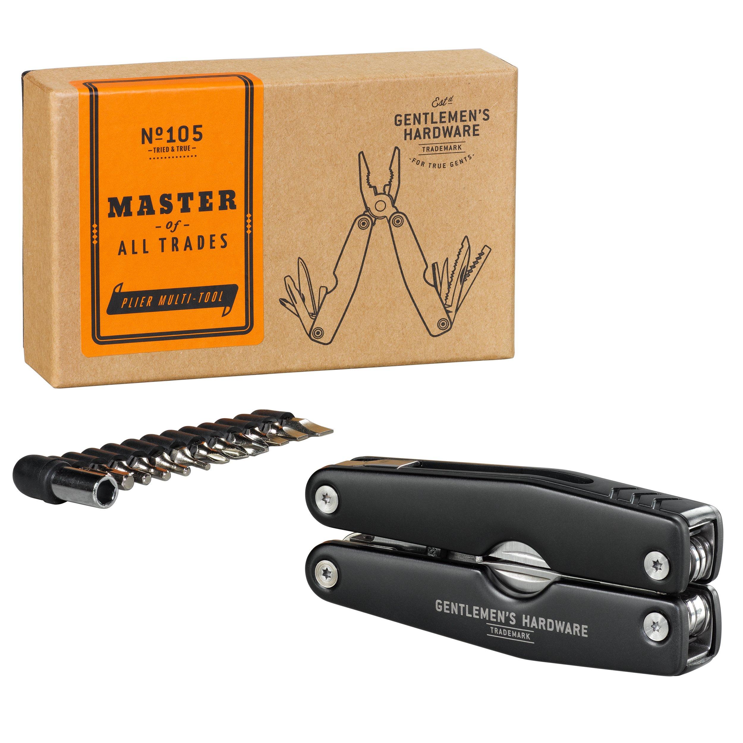 Gentlemen's Hardware Pliers & Screwdriver Multitool