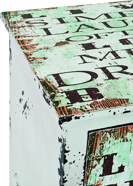 35 x 40 x 76 cm Haku M/öbel 27947 Kommode Vintage