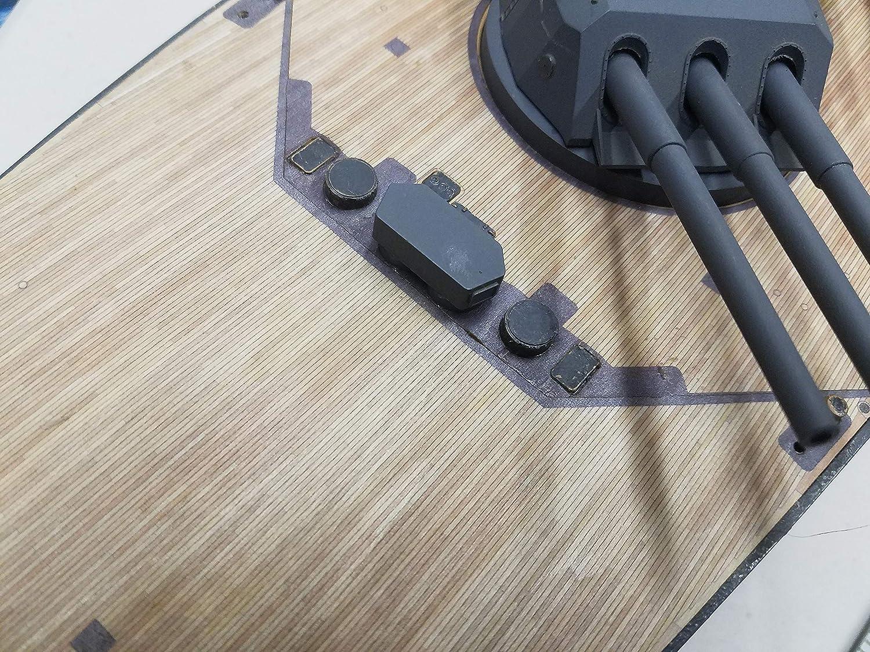 Amazon.com: Premium cubierta de madera para 1/200 Yamato ...