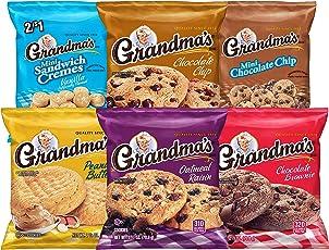 Grandma's Cookies Variety Pack, 30 Count