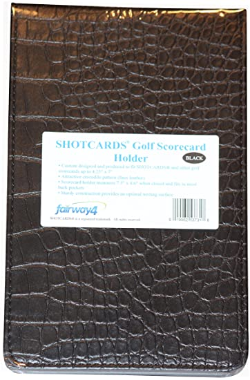 SHOTCARDS Golf Scorecard Holder