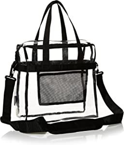 AmazonBasics Stadium-Approved Transparent Tote - Clear