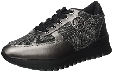 Emporio Armani Sneaker Runner, Baskets Femme  Amazon.fr  Chaussures ... c8faa1301fb6