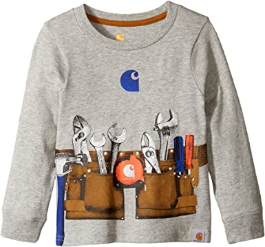 Carhartt Baby Boys Long Sleeve Tee