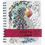 Undated Coloring Planner (7x8.5) Medium - Weekly & Monthly Organizer, Appointment Schedule, Goals and Notes