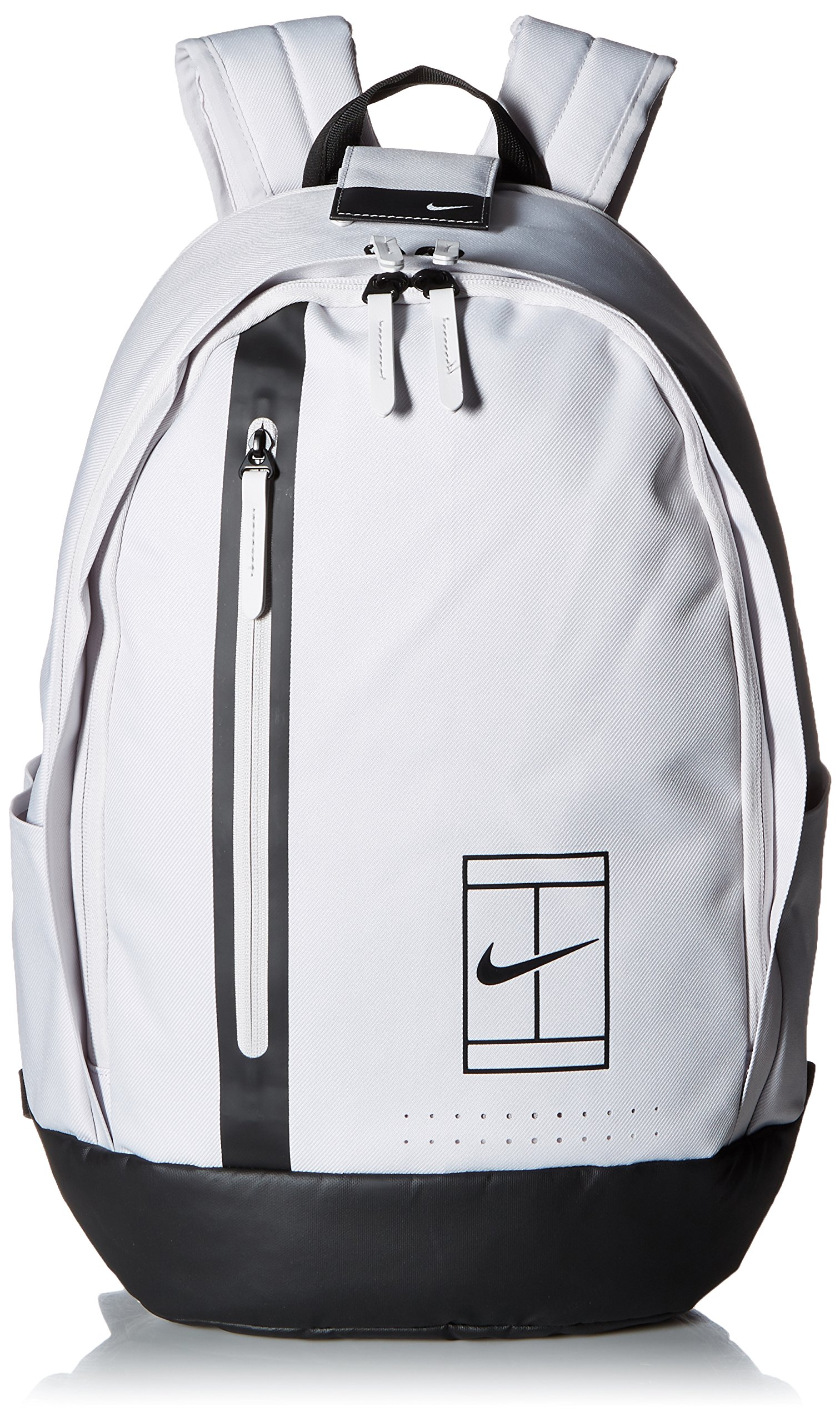 NIKE Court Advantage Tennis Duffel Bag (Grey/Black)