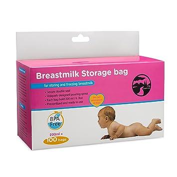 Amazon.com: upmudcreek leche materna bolsas de ...