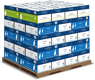 product image for Hammermill Copy and Premium Paper Pallet, Copy Paper, 20lb, 92 Bright, 8.5x11, 32 Cases, W/Premium Color Copy, 28lb, 100 Bright, 8 Cases, 8.5x11, 1 Pallet, 004300P
