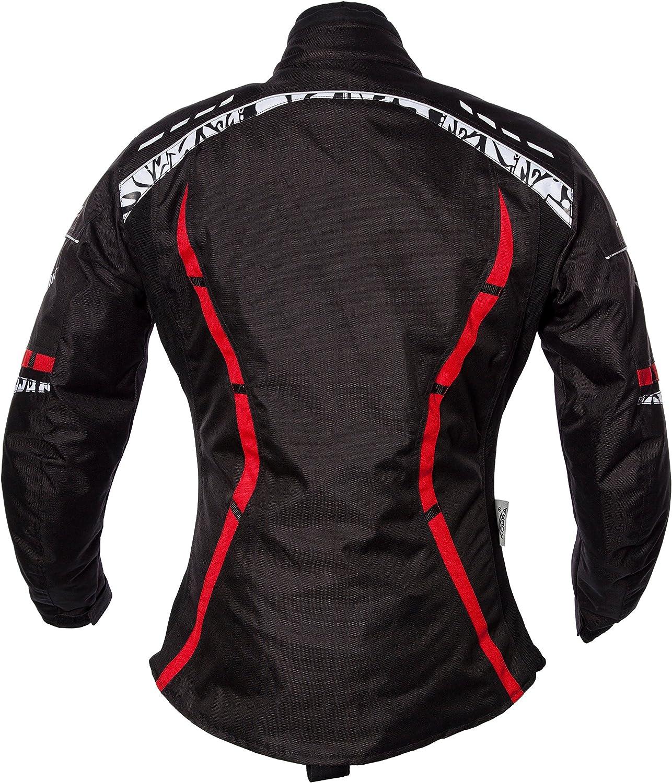 Gr/ö/ße S Rot Roleff Racewear Motorradjacke Zelina