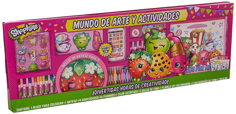 Mundo de Arte y Actividades, Set para colorear -Shopkins-: Amazon ...
