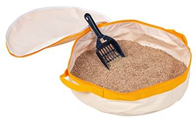 IRIS Travel Cat Litter Pan, Yellow
