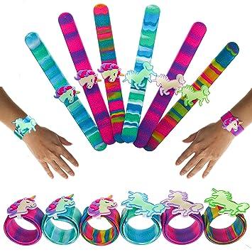 FROG SAC 6 Slap Pulseras para niños - Regalos de Fiesta de ...