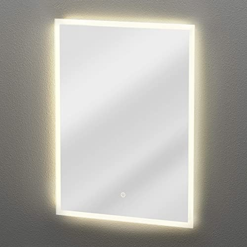 Gatco Lighted Reflections LED Mirror, Radiance, 31.5 H, Silver