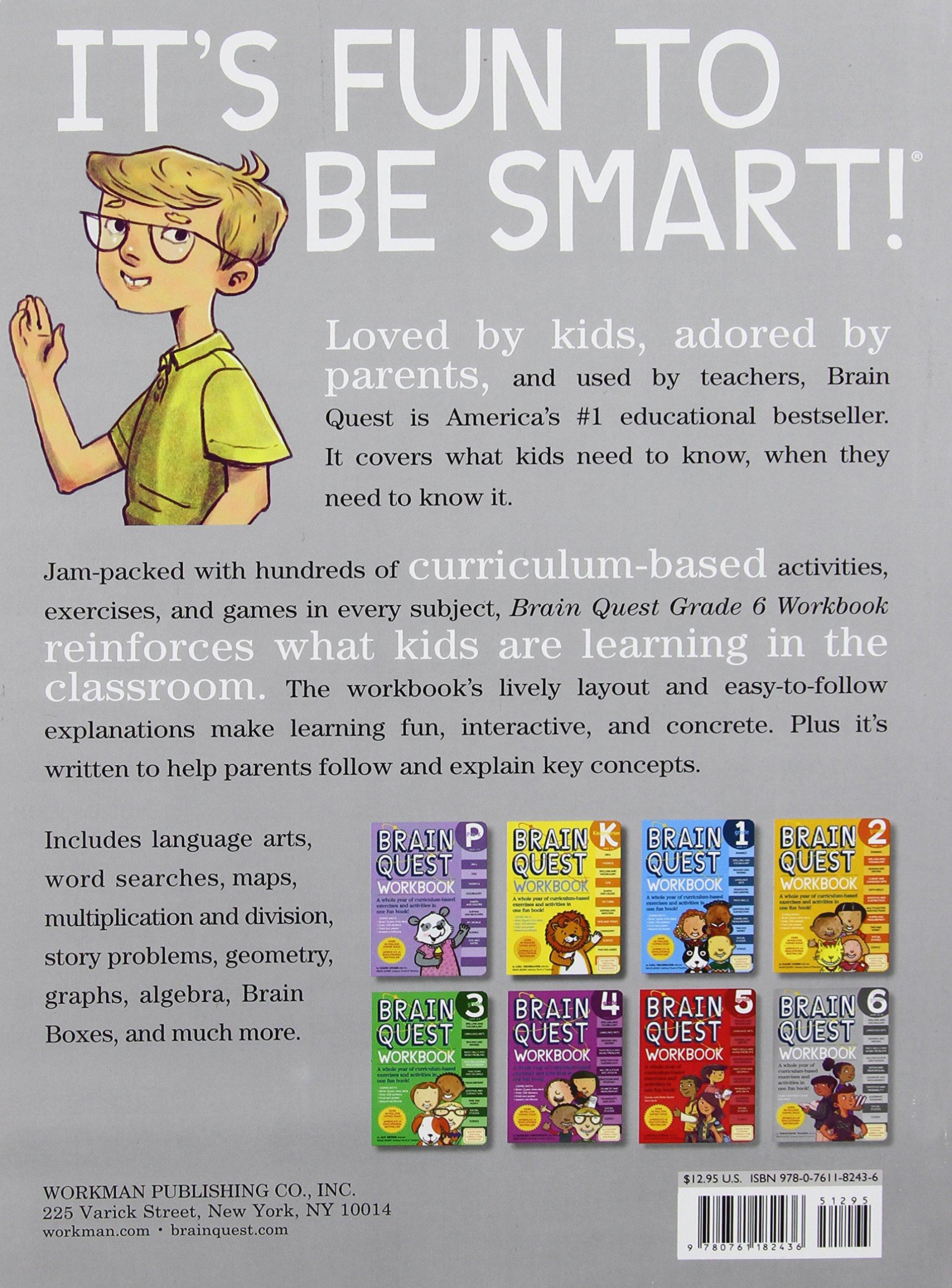 Brain Quest Workbook: Grade 6 by Workman Publishing (Image #1)