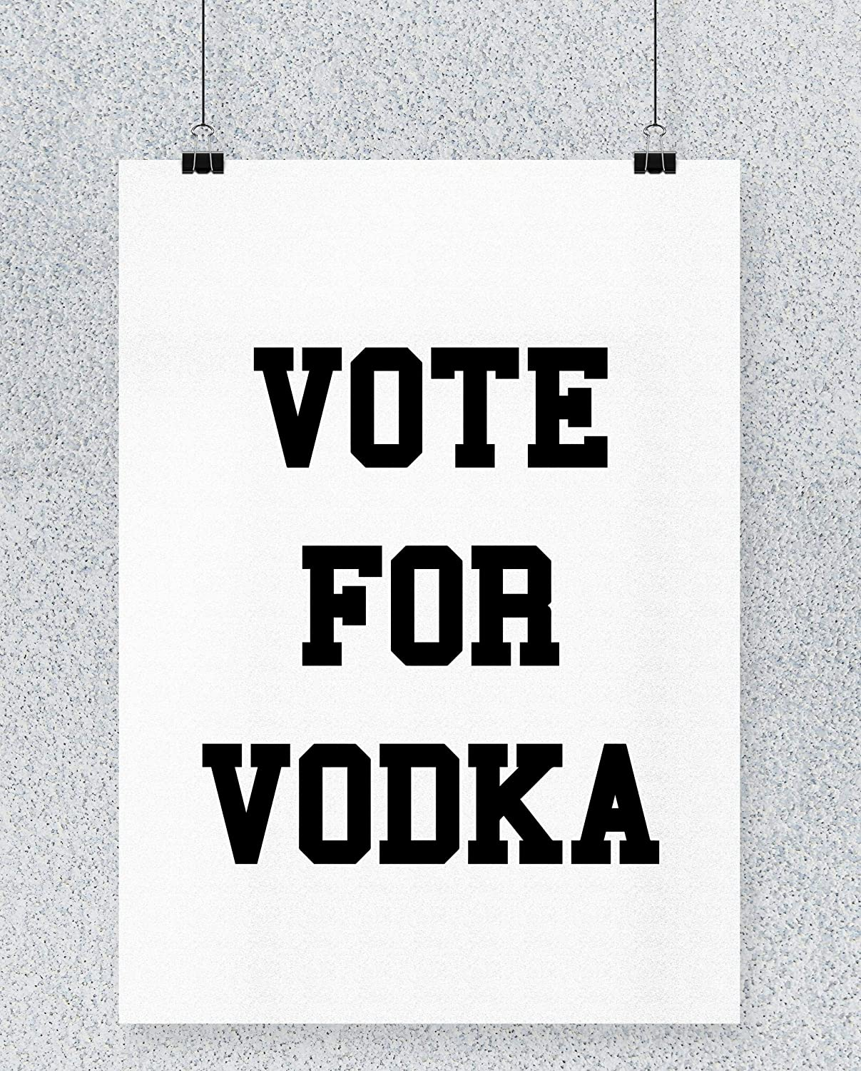 Compra Hippowarehouse Vote for Vodka Cartel Impreso Pared ...
