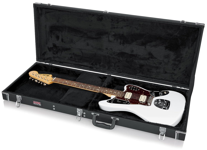 Gator GW-JAG - Estuche para guitarra eléctrica de madera