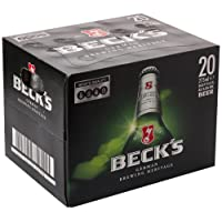 Beck's Lager Beer Bottle, 20 x 275 ml