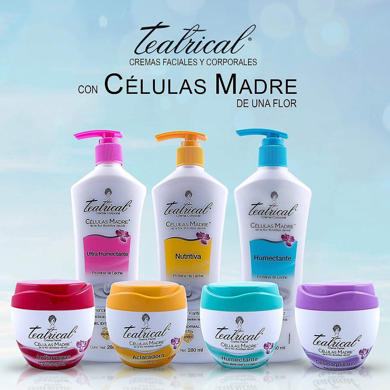 Amazon.com : Teatrical Crema Celulas Madre Humectante (Huge 400G ...