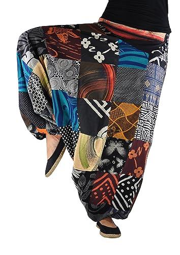 Pantalones bombachos hombre y mujer virblatt con tejidos tradicionales talla única, S - L pantalones...