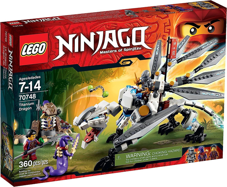 LEGO Ninjago Titanium Dragon Toy (Discontinued by manufacturer)