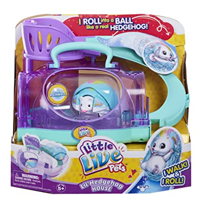 Little Live Pets S2 Lil Hedgehog House: Toys & Games [5Bkhe1104824]