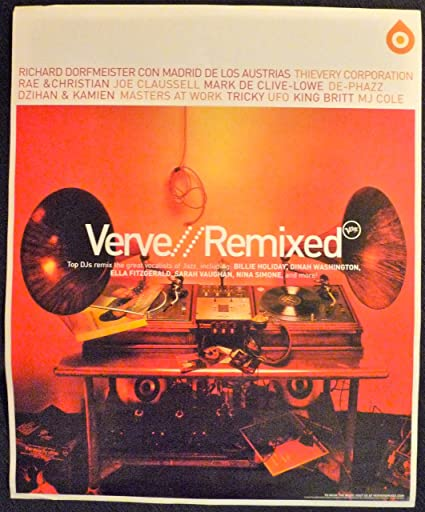 Amazon.com: Verve Records – Verve Remixed – Rare de ...