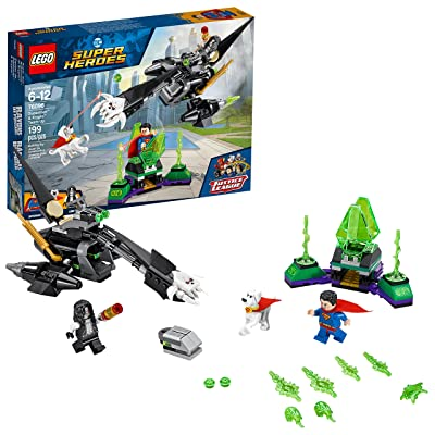 LEGO DC Super Heroes Superman & Krypto Team-Up 76096 Building Kit (199 Piece): Toys & Games