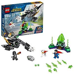 LEGO DC Super Heroes Superman & Krypto Team-Up 76096 Building Kit (199 Piece)