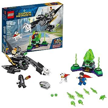 Amazon.com: LEGO Superheroes Superman & Krypto Team-up 76096 ...