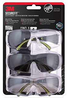 3M SF400-W-3PK-PS Secure-Fit 400 Anti-Fog Eye