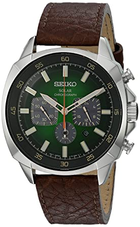 f44b2b221 Image Unavailable. Image not available for. Color: Seiko SSC513 Solar  Chronograph ...