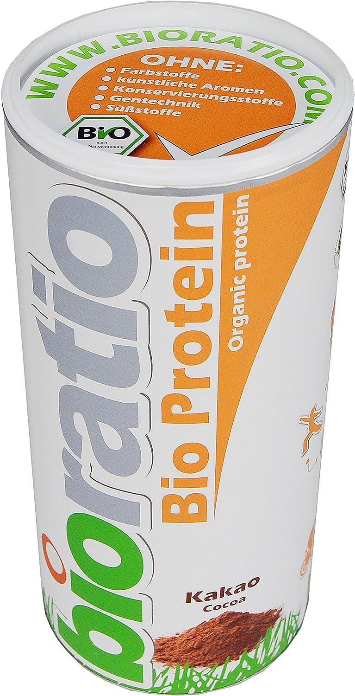 Proteína bioratio bio 500 g, De suero Whey de (bio) y natural ...