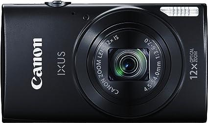 Canon Ixus 170 Digitalkamera 2 7 Zoll Schwarz Kamera