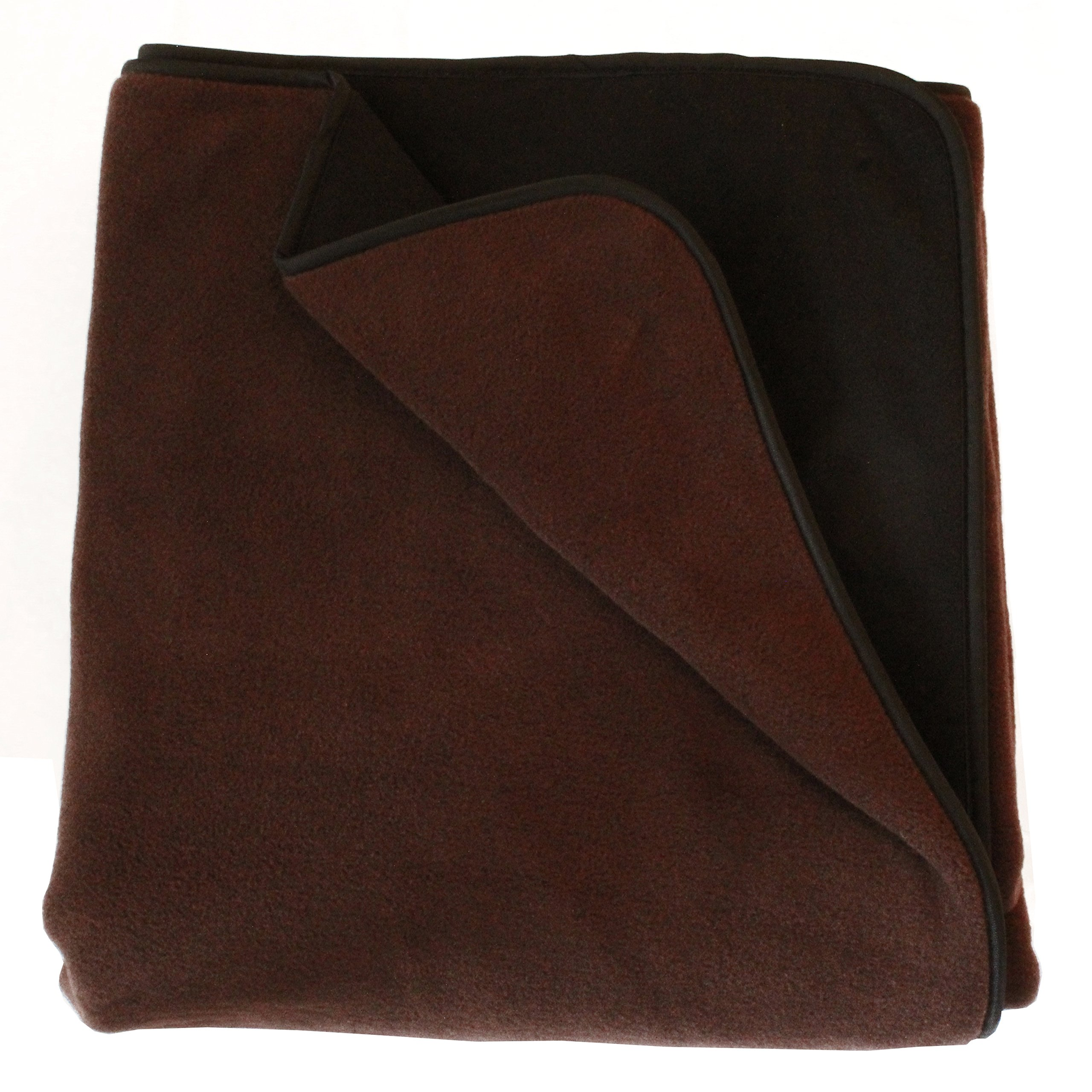 100% Waterproof Mambe Pet Blanket (Large 58''x 84'', Chocolate)