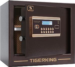Digital Safe Box, Safe for Home, Tigerking -1 Cubic Feet