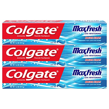 Review Colgate Max Fresh Toothpaste