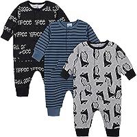 Gerber Grow Baby Boys Organic 3-Pack Coverall Set
