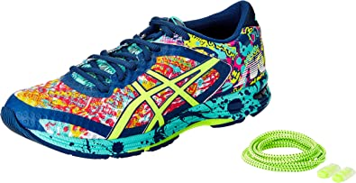 ASICS Womens Gel-Noosa Tri 11 Poseidon, Safety Yellow and Cockatoo Running Shoes - 4 UK/India (37 EU)(6 US): Amazon.es: Zapatos y complementos