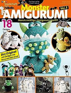 Mini Monster 20 Amigurumi Monster Zum Selberhäkeln Amazonde