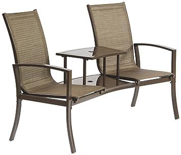 Suntime Havana Duo Seat  Bronze. Amazon com   Suntime Havana Duo Seat  Bronze   Patio  Lawn   Garden