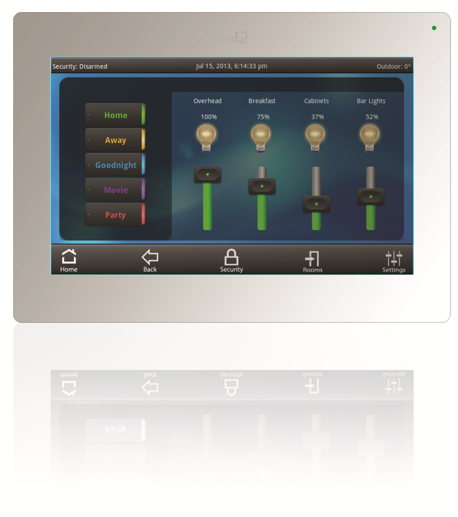 Amazon Com Leviton 99a00 1 Omnitouch 7 Color Touchscreen