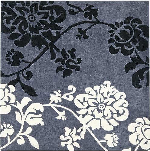 Safavieh Modern Art Collection MDA623A Handmade Floral Area Rug