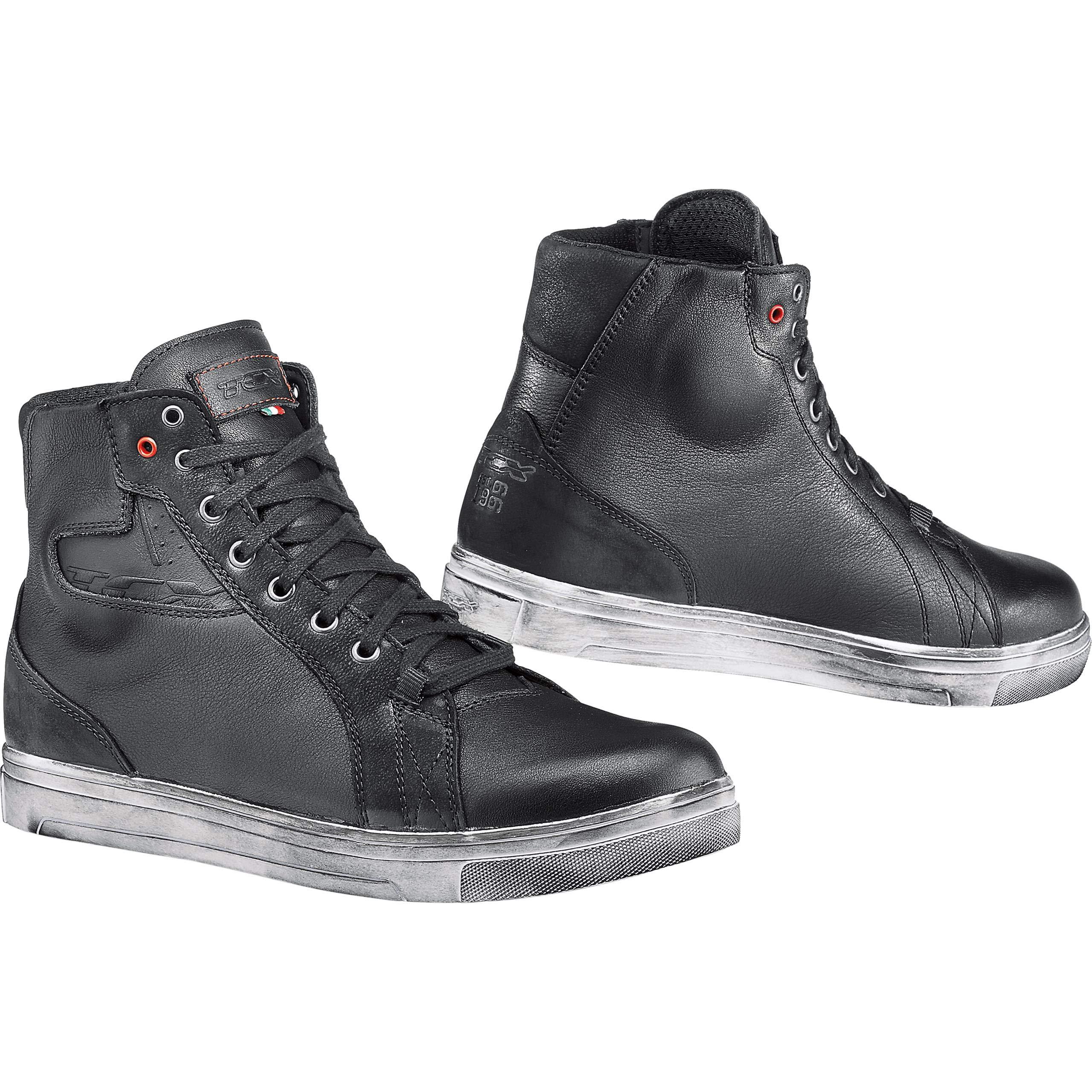 TCX Street Ace Waterproof Men's Street Motorcycle Shoes - Black / 39