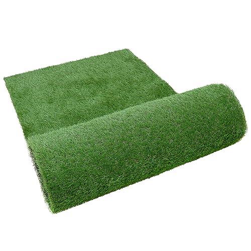 高密度で葉が抜けにくいHUGOOの人工芝
