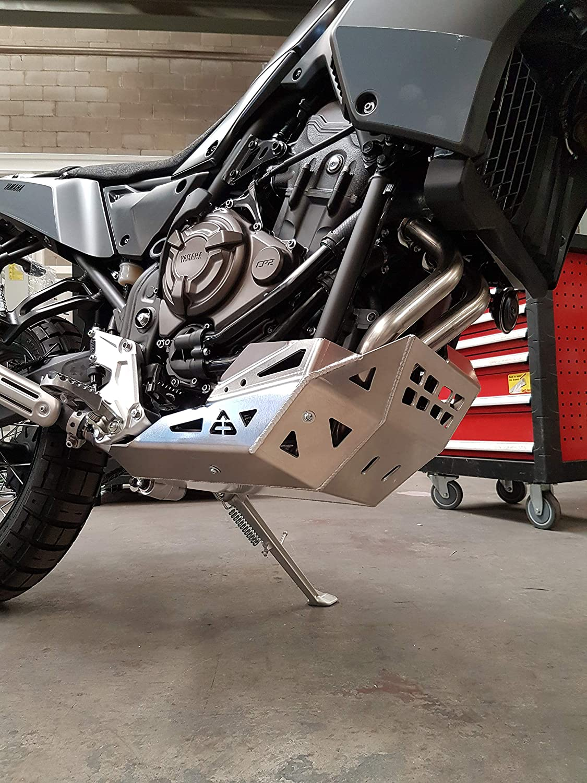 Aluminum Skid Plate ACD RAW Yamaha TENERE 700 T7 XTZ-690 2019-2020