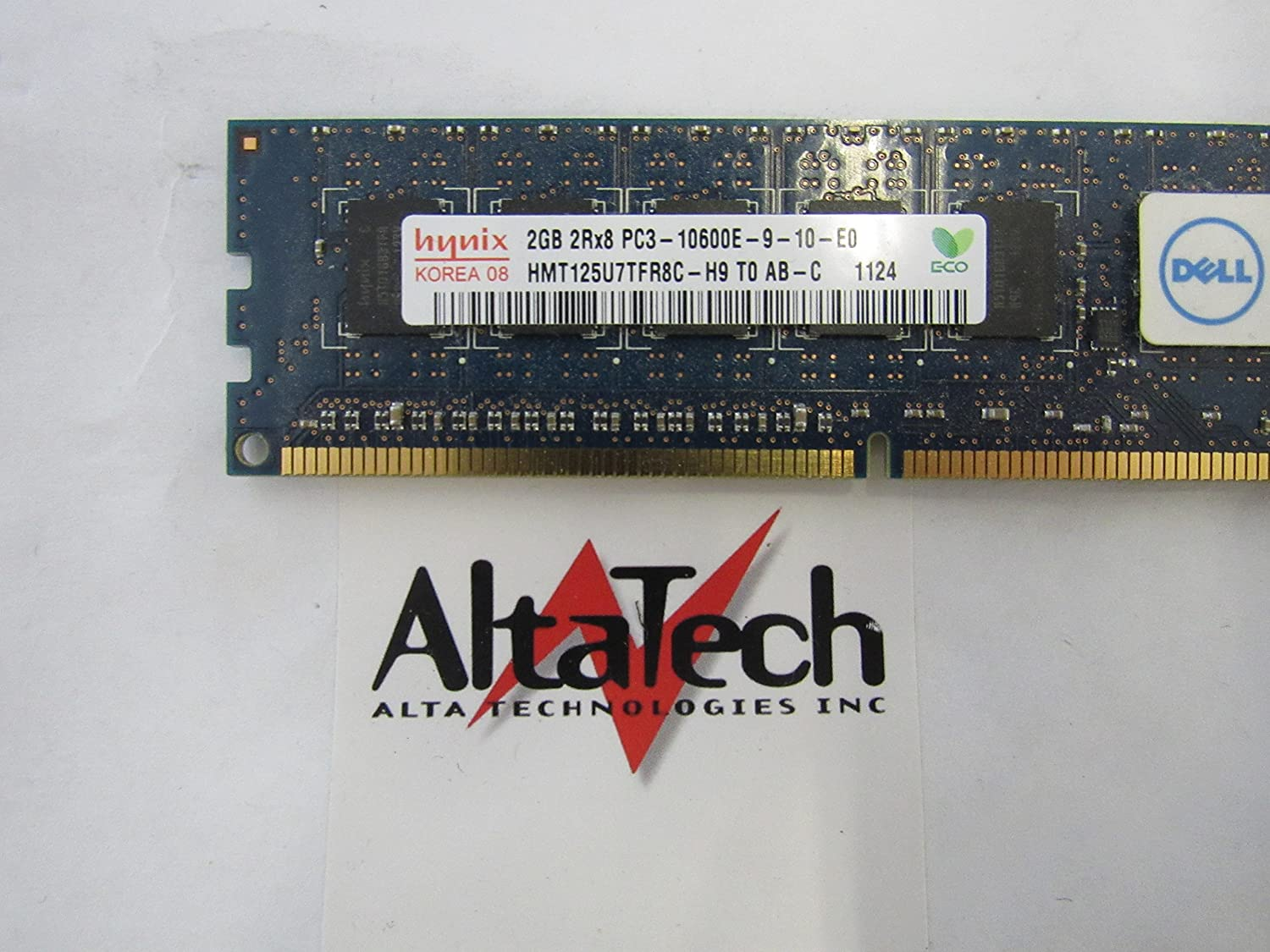 Hynix HMT325U7BFR8C-H9 2GB PC3 10600E 1RX8 ***Server memory only***