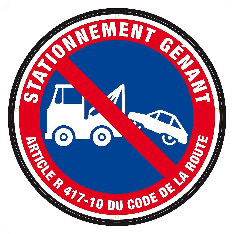 Panneau signalé tique Stationnement Gé nant 300 mm CCCO