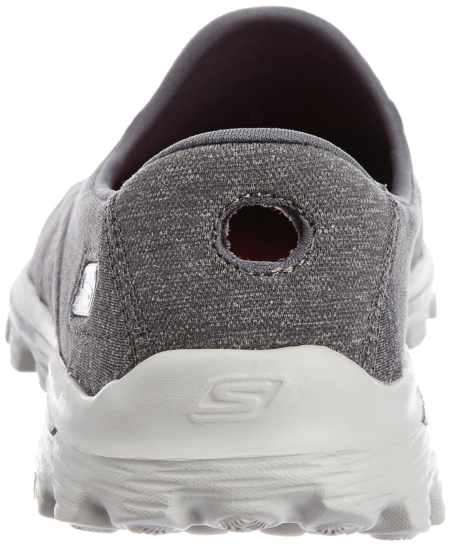 Skechers Performance Women's Go Walk 2 Super Shoe Sock 2 Slip-On Walking Shoe Super B00HSIGBX2 11 B(M) US|Old Charcoal db02cc