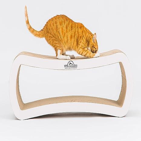 Tumbona para gatos con diseño de perlas blancas y marfil, 99 cm x ...