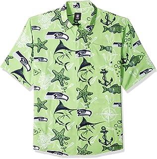 c228f47bf Amazon.com   NFL Mens Team Logo Floral Hawaiin Swim Suit Trunks ...